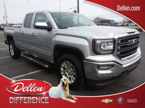 New 2019 GMC Sierra 1500 Limited SLE Double Cab in Greenfield #GK470